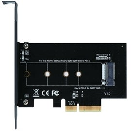 SIIG Accessory SC-M20014-S1 M.2 NGFF SSD PCI Express Card Adapter Retail
