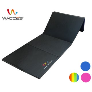 Wacces Pu Leather Gymnastics Tumbling/Martial Arts Folding Mat