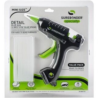High-Temp Mini Detail Tip Glue Gun Kit-Black