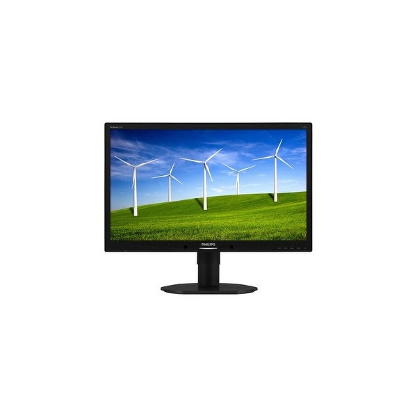 "Philips 220B4LPCB Philips Brilliance 220B4LPCB 22"" LED LCD Monitor - 16:10 - 5 ms - Adjustable Display Angle - 1680 x 1050"