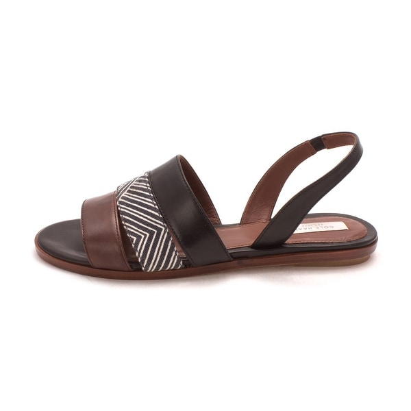 Cole Haan Womens Addisonsam Open Toe Casual Slide Sandals - 6