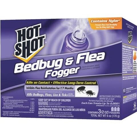 Spectrum Brands H&G 3Pk Bedbug & Flea Fogger HG-95911 Unit: EACH