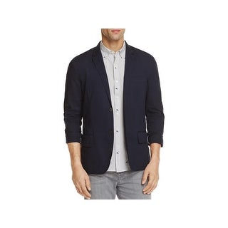 Michael Bastian Mens Two-Button Blazer Slim Fit Notch Collar - L