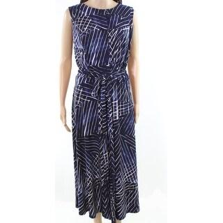 Lauren by Ralph Lauren Womens Plus Sheath Dress
