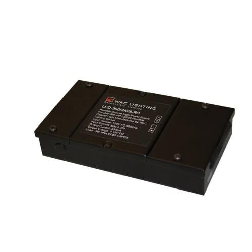 WAC Lighting LED 350MA03 12 Volt Magnetic Transformer For LED Under Cabinet  Lights   3