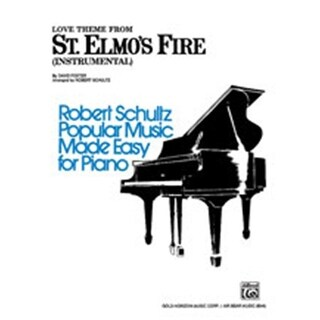 Alfred St. Elmo s Fire- Love Theme from- Instrumental - Music Book