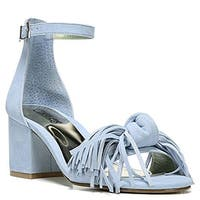 Carlos by Carlos Santana Womens Mirabelle Fabric Open Toe Casual Ankle Strap ...