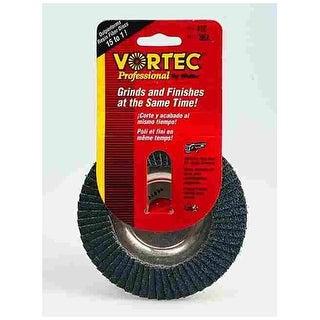 "Weiler 30830 ""Vortec Pro"" Abrasive Nutted Flap Disc 4-1/2"""