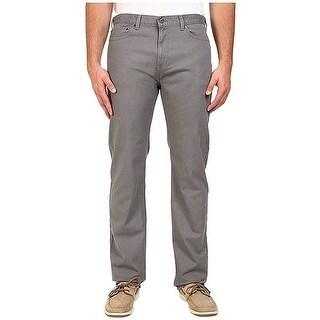 """Dockers Men's Big & Tall Straight-Fit Burma Grey Pants Size 42""""W x 36""""L - 42X36"""