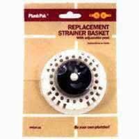 Plumb Pak PP820-26 Plastic Sink Basket Strainer