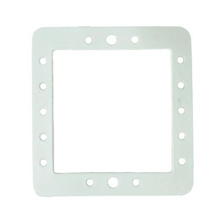 "8.25"" HydroTools Standard Swimming Pool Butterfly Gasket for Wall Skimmers - White"