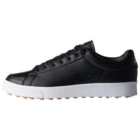 Adidas Junior Adicross Classic Core Black/Core Black/Cloud White Golf Shoes F33761