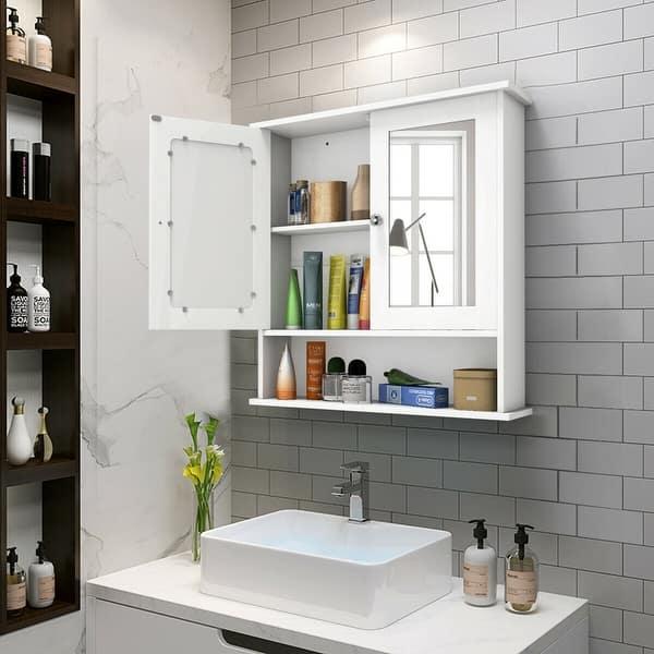 Costway New Bathroom Wall Cabinet