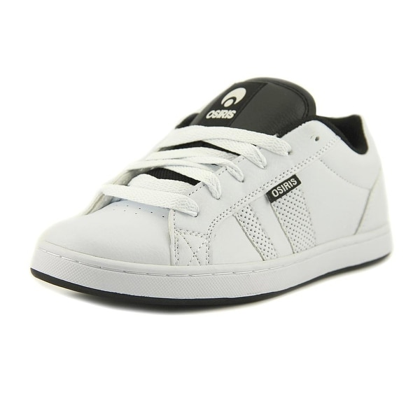 Osiris Loot Youth Round Toe Synthetic White Skate Shoe