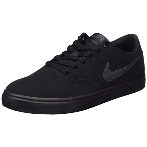 3401c8d67d0a Shop Nike Unisex Sb Check Solar Cnvs Black Anthracite Skate Shoe - Free  Shipping Today - Overstock.com - 26433262