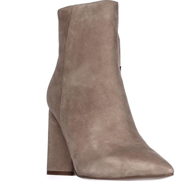 KENDALL + KYLIE Gretchen Side Lace Booties, Light Natural