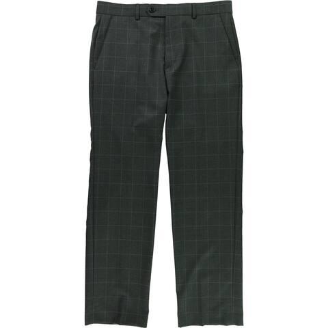 Ralph Lauren Mens Windowpane Casual Trousers - 32W x 30L