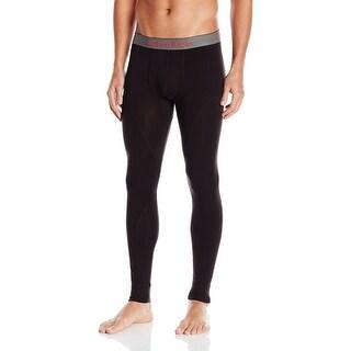 Calvin Klein NEW Black Mens Size XL Thermal Long Stretch Underwear