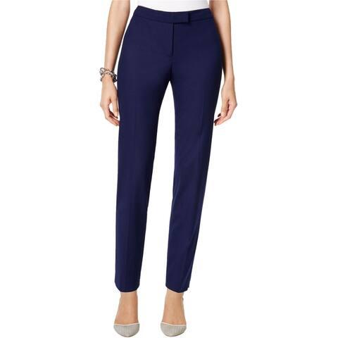 Anne Klein Womens Solid Dress Pants