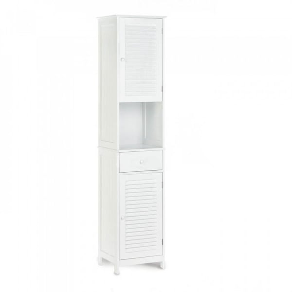 Nantucket Tall White Cabinet