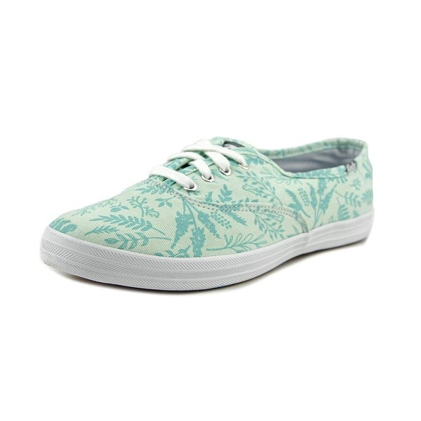 Keds CH Leaves + Birds Round Toe Canvas Sneakers