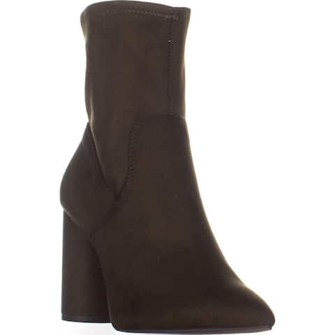 BCBGeneration Ally Mid Calf Boots, Olive - 8.5 US / 38.5 EU