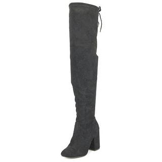 Steve Madden Norri Round Toe Synthetic Over the Knee Boot