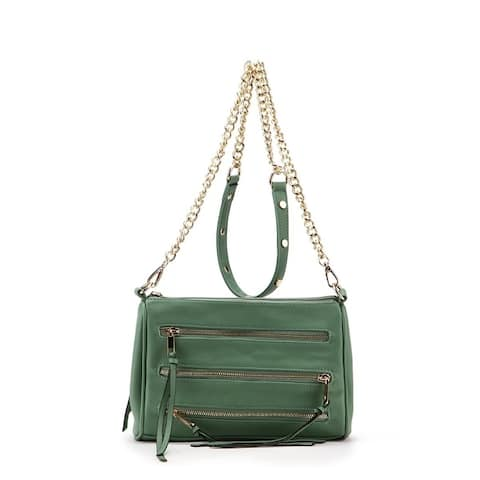Mkf Collection By Mia K Arlene 3 Zip Crossbody Bag
