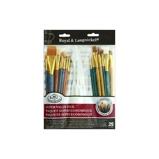 Royal Brush Set Super Value Variety 25pc