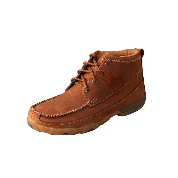 Twisted X Casual Shoes Women Lace Up Driving Moc Oiled Saddle