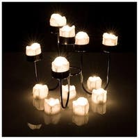 LED Tealight Candles Battery Operated Flameless smokeless Flickering Flashing Lot 6 PCS for Party