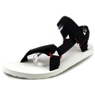 Teva Original Universal Sport Men Open-Toe Canvas Black Sport Sandal
