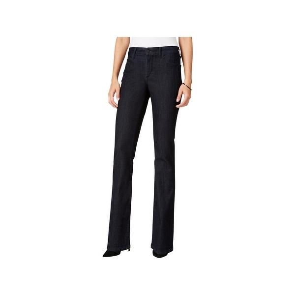 NYDJ Womens Billie Bootcut Jeans Slimming Fit Classic-Rise