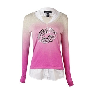 INC International Concepts Women's Layered Ombre Top