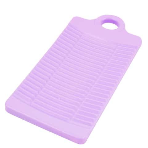 32cm Long Washboard Washing Clothes Laundry Board Purple