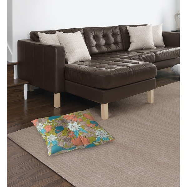 Shop YASMIN Floor Pillow by Kavka Designs - Overstock - 31306324