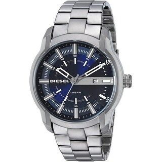 Link to Diesel Man's DZ1768 Armbar Blue Dial Stainless Steel Watch - 1 Size Similar Items in Men's Watches