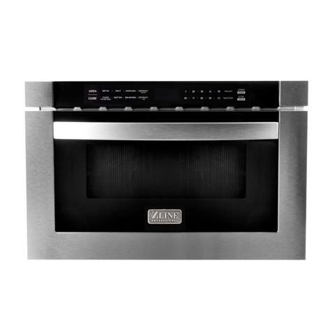 "ZLINE 24"" 1.2 cu. ft. Microwave Drawer in Stainless Steel"