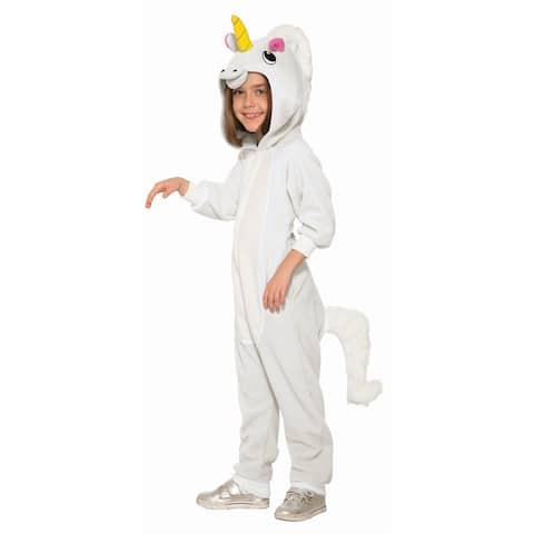 Kids Unicorn Jumpsuit Halloween Costume