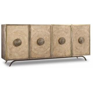 Shop Hooker Furniture 638 85264 Ltwd 80 Inch Wide Hardwood Buffet
