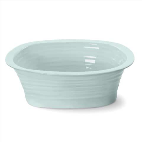 Portmeirion Sophie Conran Celadon Individual Pie Dish - 7.75 inch x 6 inch