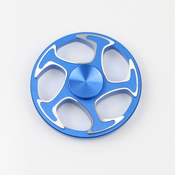 Hand Fidget Spinner Usa Stock Forgiato Rim Stress And Anxiety Reliever Blue