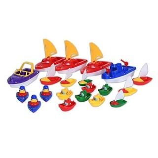Learning Advantage CTU9471 Water Play Boats - Set of 20
