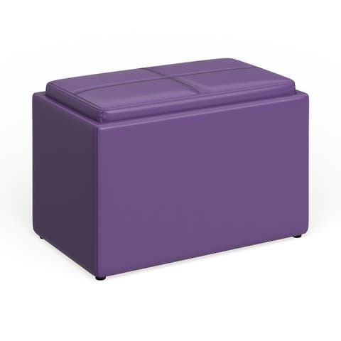 Porch & Den Claiborne Accent Storage Ottoman