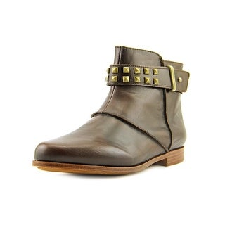 Earthies Treano Women  Round Toe Leather Brown Ankle Boot