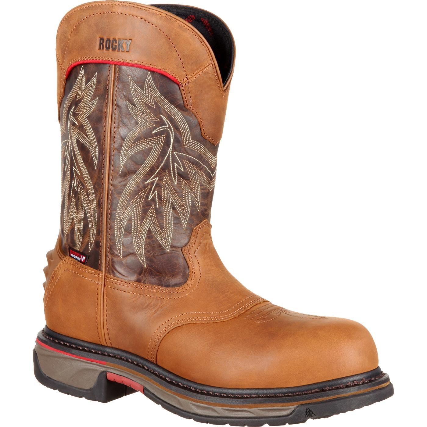 44d9d382bdd Rocky Iron Skull: Men's Composite Toe Western Boot, #RKW0203