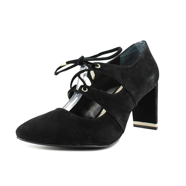 Alfani Binddi Pointed Toe Suede Mary Janes