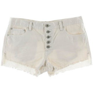 Free People Womens Destroyed Fringe Casual Shorts - 29
