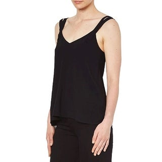 Link to Helmut Lang Black Double Strap Cami Similar Items in Intimates