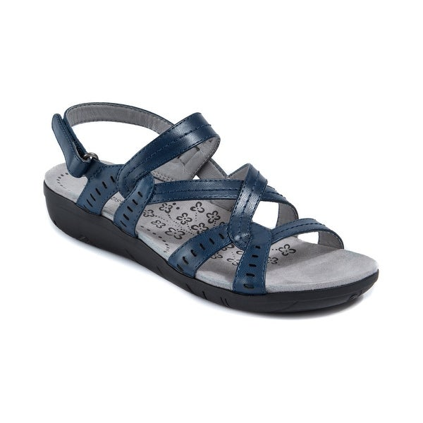 Shop Baretraps Jacey Women's Sandals & Flip Flops Navy ...